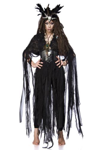 Voodoo-Hexenkostüm: Voodoo Witch